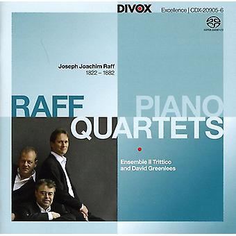 J. Raff - Joseph Joachim Raff: Piano Quartets [SACD] USA import