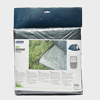 New Outwell Delano 5 Tent Footprint Black