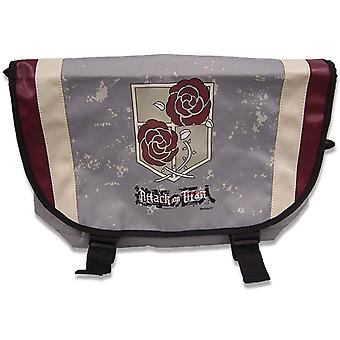 Messenger Bag - Attack on Titan - Garrison Regiment (Text Logo Ver. 2) ge11639