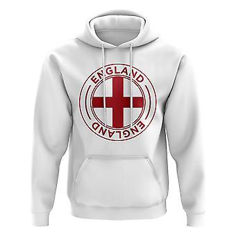 England fotball Badge hettegenser (hvit)