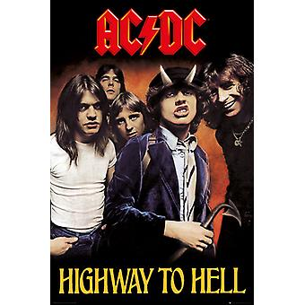 ACDC Highway To Hell Maxi Poster 61x91.5cm