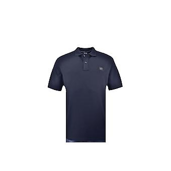 Paul & Shark Paul And Shark Large Fit Plain Polo Shirt Navy