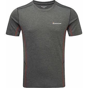 T-shirt Montano Dart-Red Shadow/alpino