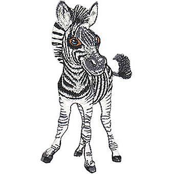 Patch - Animal Club - Zebra Iron-On New Gifts Toys p-4536