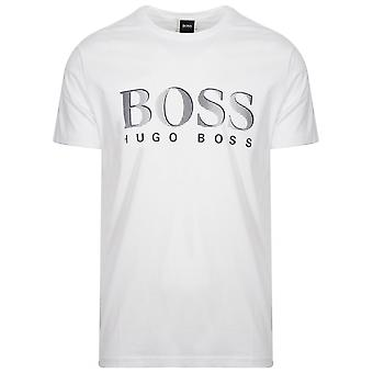 T-Shirt Protection UV blanc boss