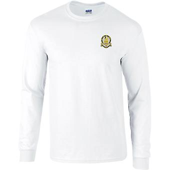 14ème Kings Hussars - Licensed British Army Embroidered Long Sleeved T-Shirt