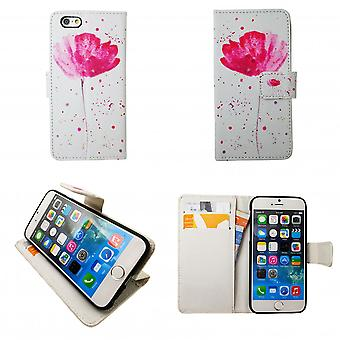 "Iphone 7/8 Brieftasche Fall-""Blumen"""