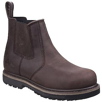 Amblers Safety Mens AS231 Dealer Boot Brown