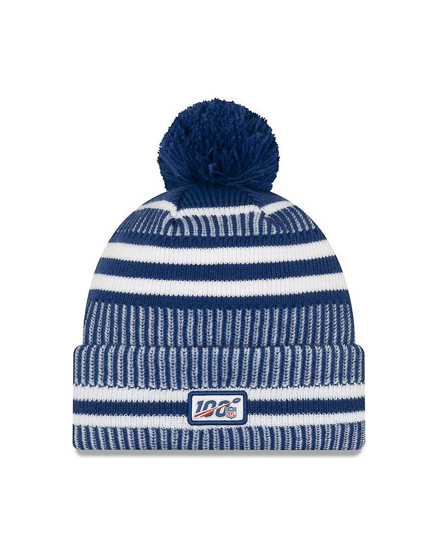 New Era On Field Sport Knit Hm Beanie ~ Indianapolis Colts