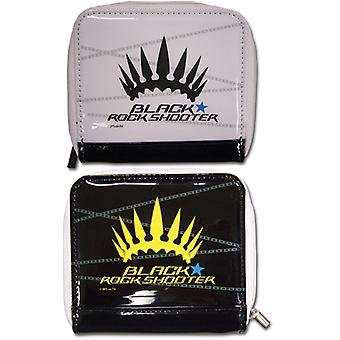 Wallet - Black Rock Shooter - Chariot Crown Girl's Zipper New Anime ge61515