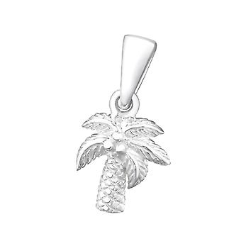 Coconut Tree - 925 Sterling Silver Pendants - W24964x