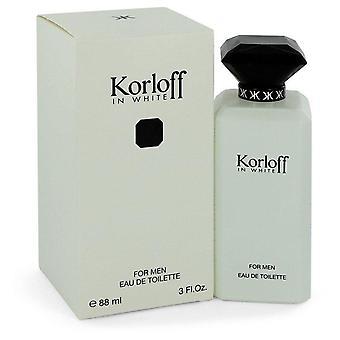 Korloff in white eau de toilette spray by korloff 544213 90 ml