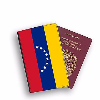 VENEZUELA Flag Passport Holder Style Case Cover Protective Wallet Flags design
