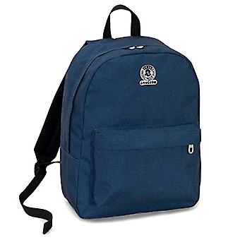 Backpack Invicta Benin S Eco-Material - Blue - 25 Lt - Laptop Pocket up 13'' - School & Leisure