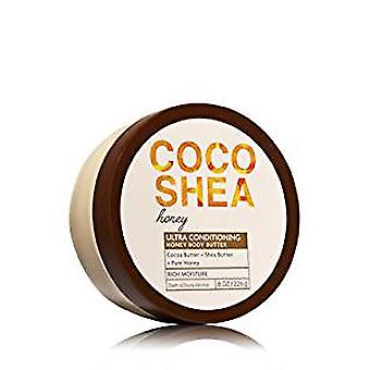 Bath & Body Works Cocoshea Honey Body Butter 8 oz / 226 g (Pack of 2)
