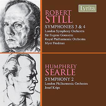 Goossens/Krips - Robert Still: Symphonies Nos. 3 & 4; Humphrey Searle: Symphony No. 2 [CD] USA import
