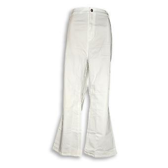 Susan graver kvinder ' s Petite jeans 24wp stretch mini støvle skåret hvid A298506