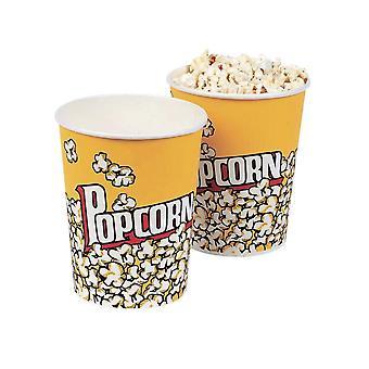 12 Cinema Style Popcorn Buckets for Children
