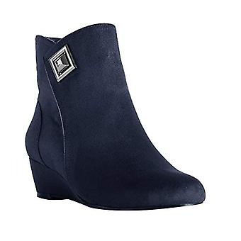 Impo Womens giovanna Fabric Almond Toe Ankle Fashion Boots