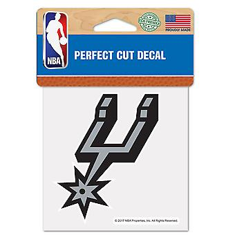Wincraft decal 10x10cm - NBA San Antonio Spurs