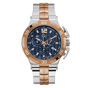 Gc Y52007G7MF Men's Structura Ultimate Chronograph Wristwatch