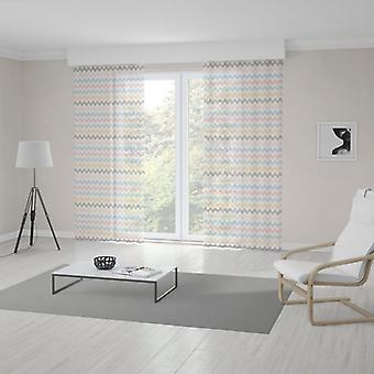 Meesoz Net Curtain - Dots And Lines