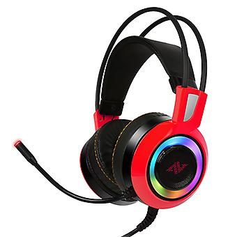 ABKONCORE CH60 REAL 7,1 Gaming Headset piros