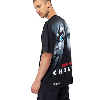 Hype Universal Monsters Bride Of Chucky Men-apos;s Oversized T-Shirt