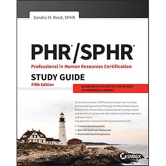 PHR and SPHR Professional in Human Resources Certification C by Sandra M Reed