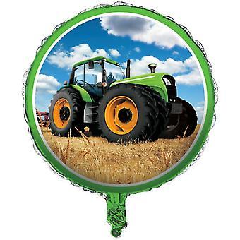 Traktorin Party kirjeet folio Balloon 46 cm Helium Farm Trecker lasten Wedghing päivä