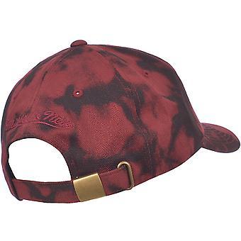 Mitchell & Ness Acid Red NBA Cleveland Cavaliers Baseball Cap Strapback Hat