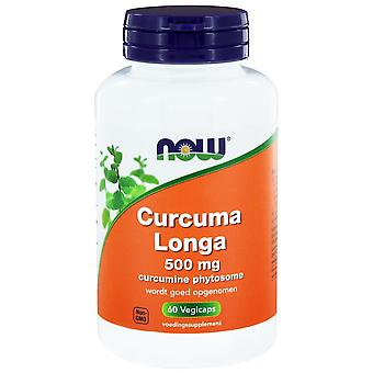 Curcuma longa 500 mg (curcumine Phytosome) (60 vegicaps)-nu voedingsmiddelen