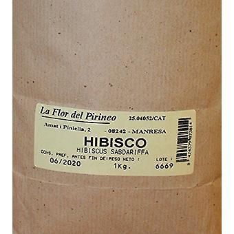 La Flor del Pirineo HIBISCO FLOR 1 KG THE FLOWER OF THE PYRENEES