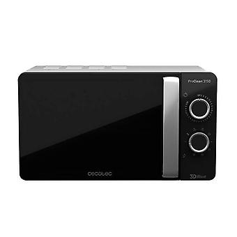 Microwave with grill ProClean Cecotec 3150 20 L 700W silver black