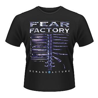 Fear Factory Detillverkning Heavy metal officiella T-shirt