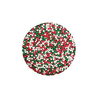 Purple Cupcakes Nonpareils - Christmas Mix - 100g