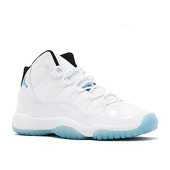 Air Jordan 11 Retro Bg (Gs) 'Legend Blue' - 378038-117 - Shoes