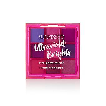 Sunkissed Ultraviolet Bright Eyeshadow Palette - 9 x 1g Eyeshadow