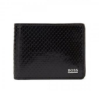 Hugo Boss Mirage 6 CC Black Leather Wallet 50408386