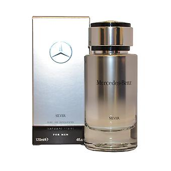 Zilver voor mannen door Mercedes Benz Eau de toilette spray 120ml
