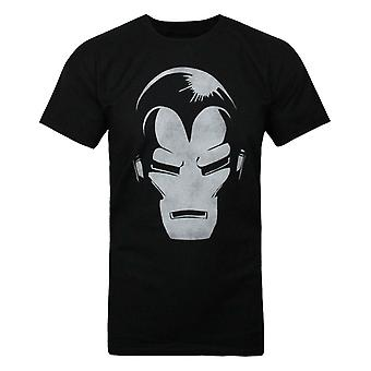 Jack Of All Trades Iron Man Dark Portret Men's T-shirt