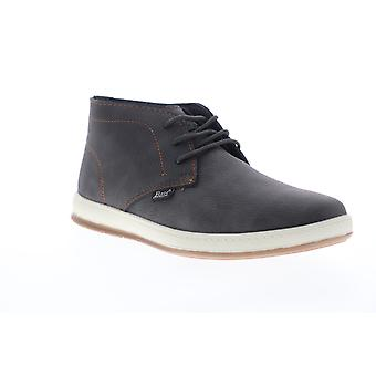 G.H. Bass Sonoma 2 Wx B  Mens Gray Leather Lace Up Chukkas Boots