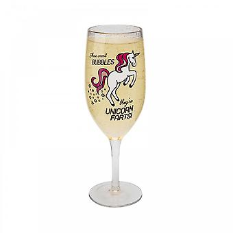 BigMouth Inc. Unicorn Champagne Glass