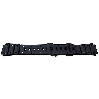 רצועת שעון גנרית Casio 17mm עבור casio 282p2, sdb500w, tri10w, ts100