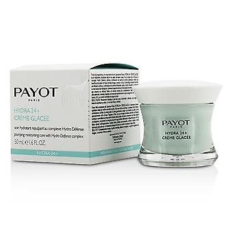 Payot Hydra 24+ Creme Glacee Plumpling Moisturizing Care - For Dehydrated Normal To Dry Skin - 50ml/1.6oz
