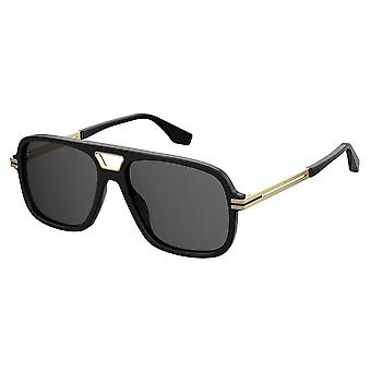 Marc Jacobs Marc 415/S 2M2/IR Black-Gold/Grey Sunglasses