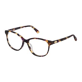 Mulberry VML017 0AEN Shiny Violet Havana Glasses