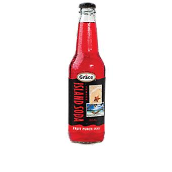 Grace Island Soda Fruit Punch-( 355 Ml X 12 Cans )