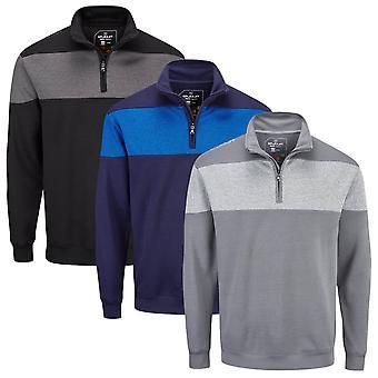 Stuburt Golf Mens 2020 Evolve Performance 1/4 Zip Stretch Golf Windproof Sweater
