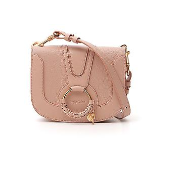 See By Chloé Chs1as8963056k0 Women's Pink Leather Shoulder Bag
